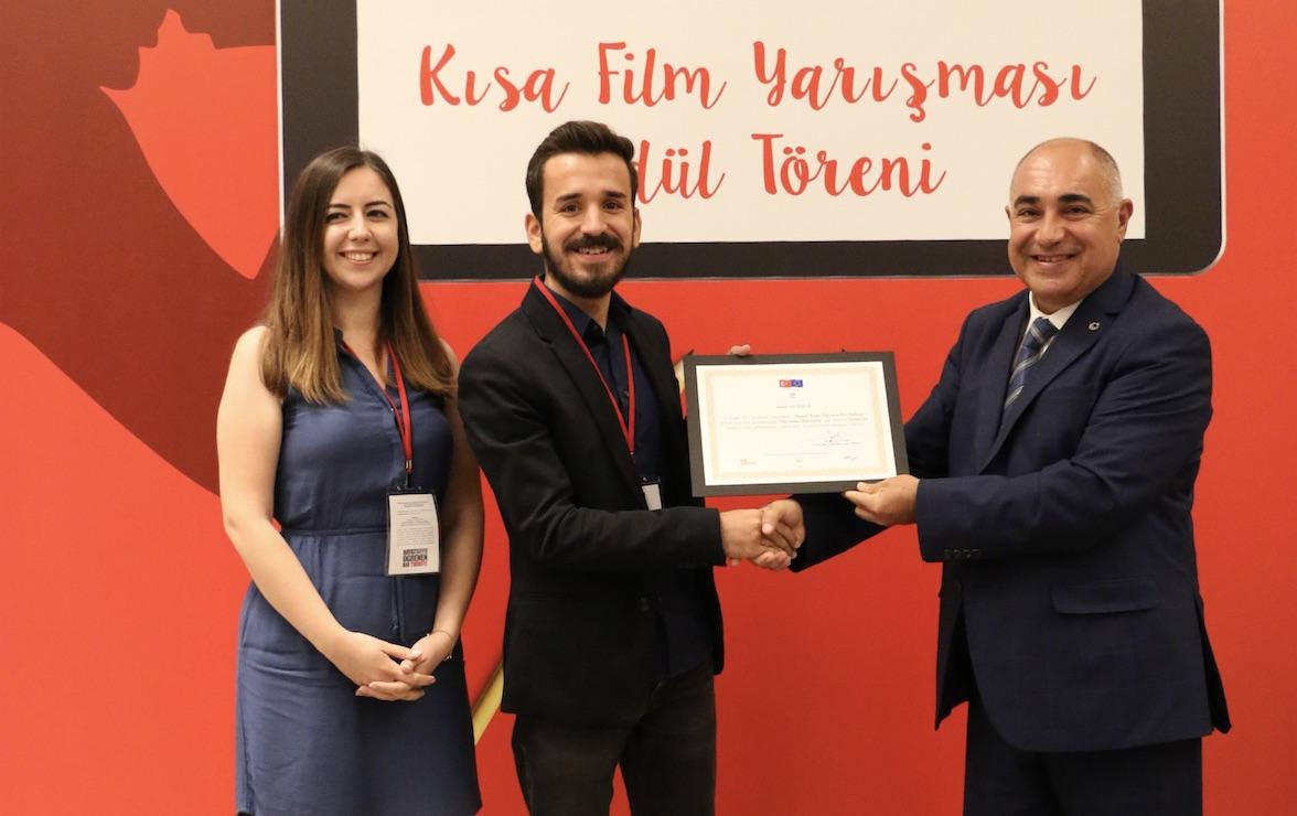 Kısa Film Yarışması Ödülleri Sahiplerini Buldu